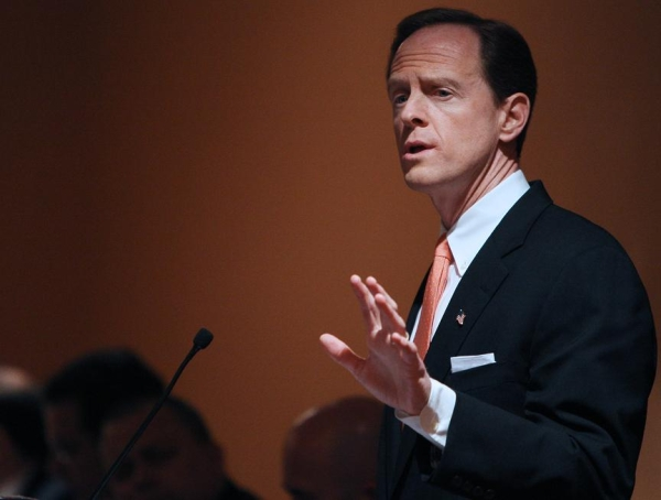 Pat Toomey, Republican Candidate for  the US Senate in Pennsylvania